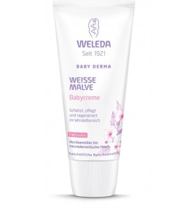 Weleda White Mallow Nappy Change Cream, organic, 50ml
