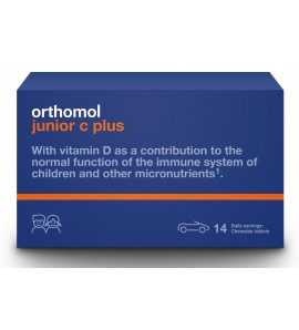 Orthomol junior C plus miks tablete za žvakanje