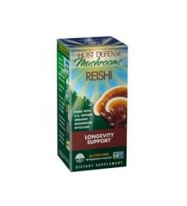 Fungi Perfecti Reishi gljiva, 60 kapsula