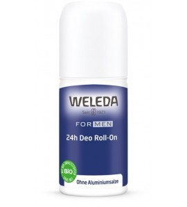 Weleda Dezodorans 24h roll-on muški, organski, vegan, 50ml