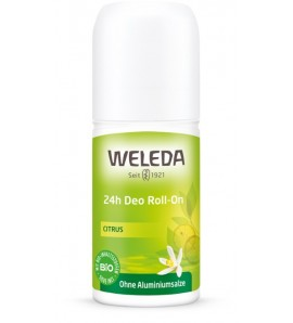 Weleda Dezodorans 24h roll-on limun, organski, vegan, 50ml