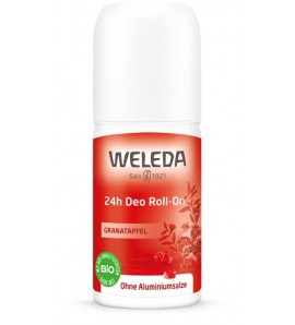 Weleda Dezodorans 24h roll-on nar, organski, vegan, 50ml
