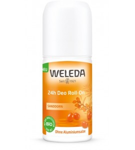 Weleda Dezodorans 24h roll-on vučji trn, organski, vegan, 50ml
