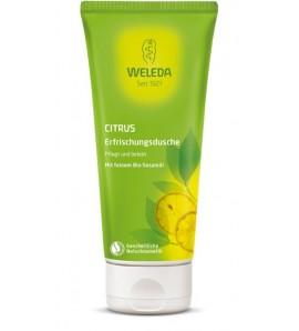 Weleda Citrus Creamy Body Wash, organic, vegan, 200ml