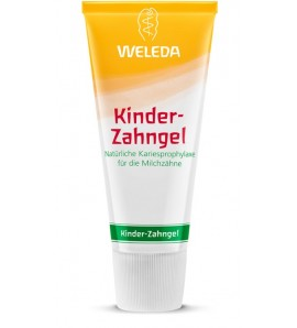 Weleda Children's Tooth Gel, organic, no fluoride, vegan, 50ml