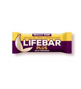 Super Sale Raw Organic Lifebar Superfoods Açaí Banana, 47g