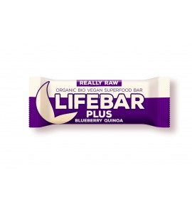 Super Sale Raw Organic Lifebar Superfoods Blueberry Quinoa, 47g