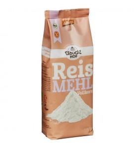 Bauckhof Integralno rižino brašno, bez glutena, organsko, vegan, 500g