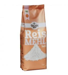 Bauckhof Rižino brašno bijelo, bez glutena, organsko, vegan, 500g