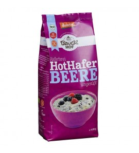 Bauckhof Porridge Hot Oat Berry, gluten free, organic and vegan, 400g