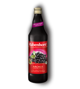 Rabenhorst Aronia Juice, Organic, Vegan, 750ml