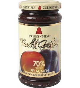 Zwergenwiese, Plum Jelly FruitGarden only sweetened with agave syrup 225 g