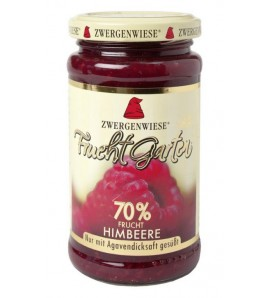 Zwergenwiese Raspberry FruitGarden only sweetened with agave syrup 225 g