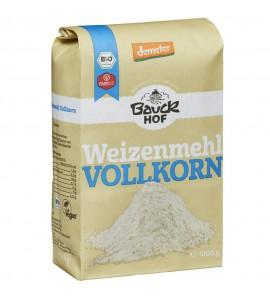 Bauckhof Organic Wheat Flour Wholemeal organic, vegan, sugar free, 1kg