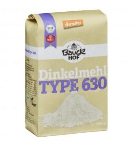 Bauckhof Organic Spelt Flour Type 630 organic, vegan, sugar free 1kg