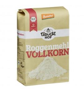 Bauckhof Organic Lightcorn Rye Flour Wholemeal organic, vegan, 1kg