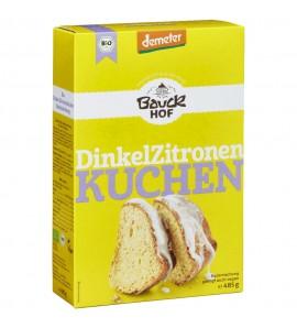 Bauckhof Organic Cake Mix Spelt Lemon Cake, organic, vegan, 485g