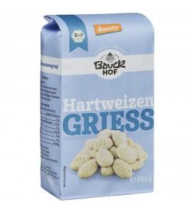 Bauckhof Organic Durum Wheat Gris organic, vegan, sugar free, 500g