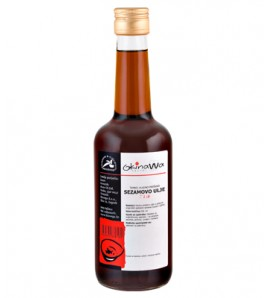 Okinawa Dark sesame oil 250 ml