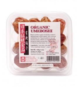 Okinawa Umeboshi plums 150 g, organic