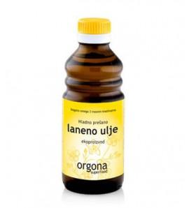 Orgona superfood Flaxseed oil, cold pressed, 250 ml