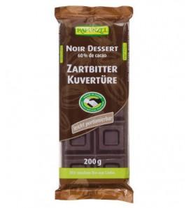 Rapunzel Čokolada crna za kuhanje 200g, organsko, vegan