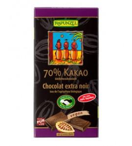Rapunzel Čokolada kakao 70% rapadura 80g, organsko, vegan