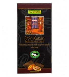 Rapunzel Čokolada kakao 85% rapadura 80g, organsko, vegan