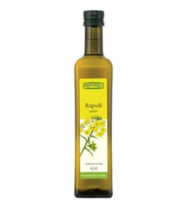 Rapunzel Cold pressed extra virgin rapeseed oil  500 ml, organic, vegan