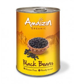 Amaizin Black beans in can 400g