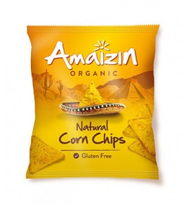 Amaizin Tortilla corn chips 75g