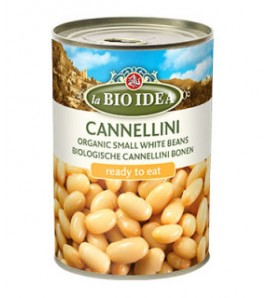 Bioidea Cannellini beans in a can 400g