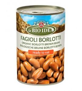 Bioidea Brown Borlotti beans in a can 400g