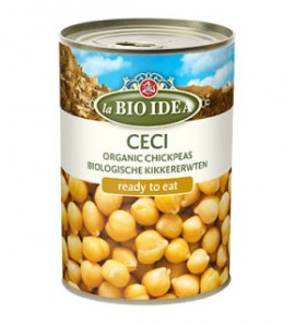 Bioidea Chickpeas in a can 400g