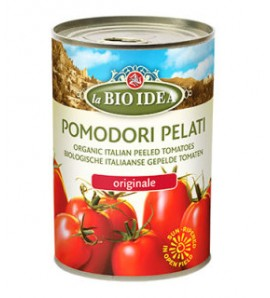 Bioidea Chopped tomatoes in can 400g