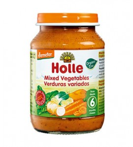 Holle Poridge mixed vegetables 190g, organic, vegan, gluten free