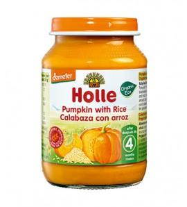 Holle Pumpkin porridge with rice 190g, organic, vegan, gluten free