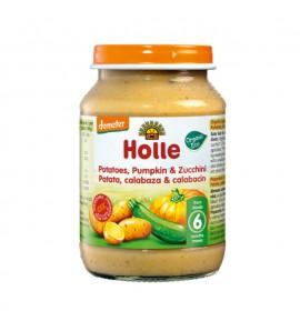 Holle Gourd and pumpkin porridge with potatoes 190g, organic, vegan, gluten free