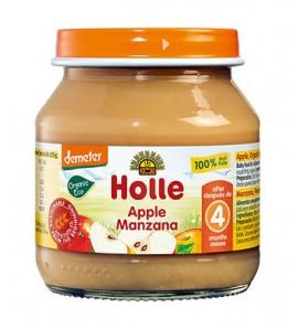 Holle Apple porridge 100% 125g, organic, vegan, gluten free