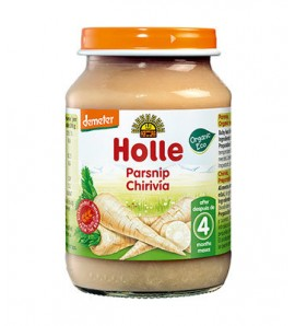 Holle Parsnip porridge 125g, organic, vegan, gluten free