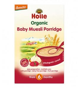 Holle Instant muesli porridge 250g, organic, vegan and sugar free
