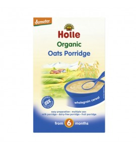 Holle Instant porridge oat integral 250g, organic, vegan