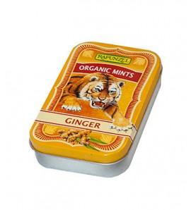 Rapunzel Ginger candies50g, organic, vegan