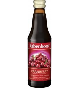 Rabenhorst Cranberry Juice, Vegan, 330ml