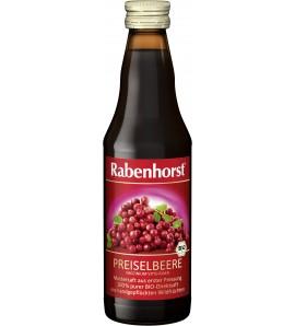 Rabenhorst Cranberry juice preiselbeere 100% 330ml