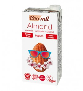 Ecomil, Almond drink 1l, lactose and sugar free
