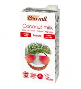 Ecomil, Coconut drink 1l, lactose and sugar free