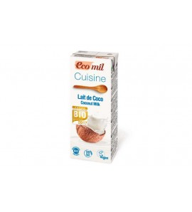 Ecomil, Coconut cooking cream 250 ml, organic, gluten free