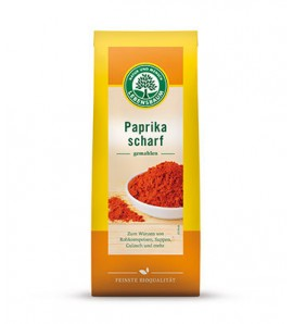 Lebensbaum Hot pepper 50g, organic, vegan