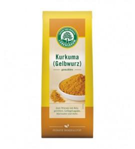 Lebensbaum Kurkuma mljevena 50 g, organsko, vegan